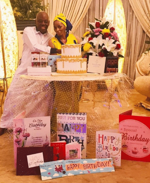 Sade Okoya celebrates 41st birthday in a lowkey way but with glamorous photos