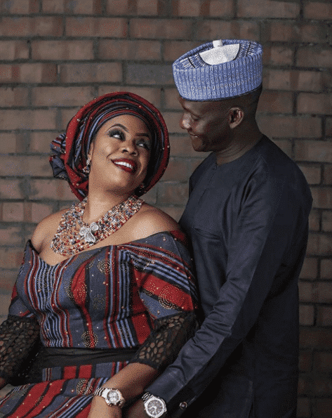 Dolapo Badmus shares picture of her husband cooking in the kitchen