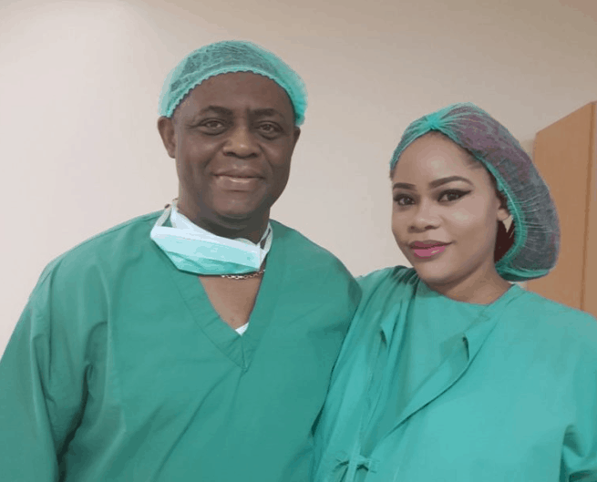 Femi Fani-Kayode and wife welcome triplets this morning